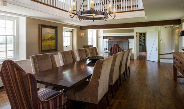 Simply rustic chic dining room ideas