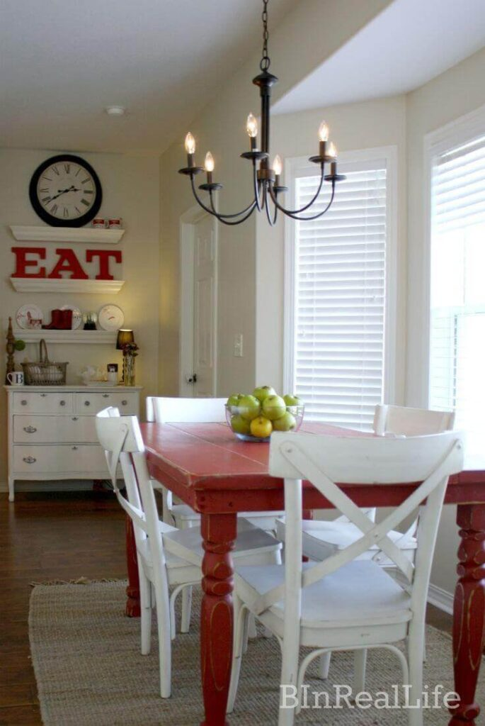 Adorable rustic dining room ideas