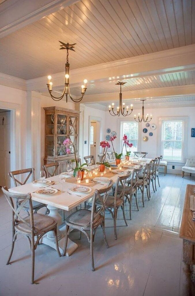 Awesome country dining room decor