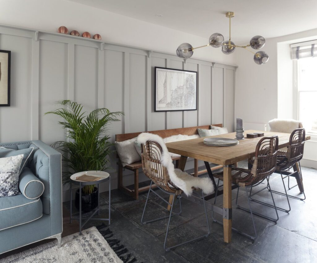 Amazing farm style dining table