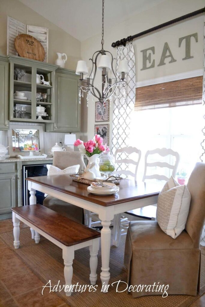 Awesome farmhouse dining room ideas pinterest