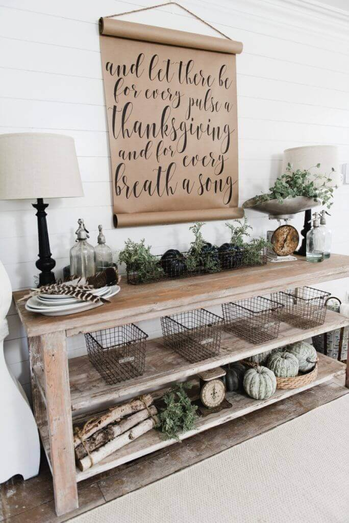 Unique country dining room decor