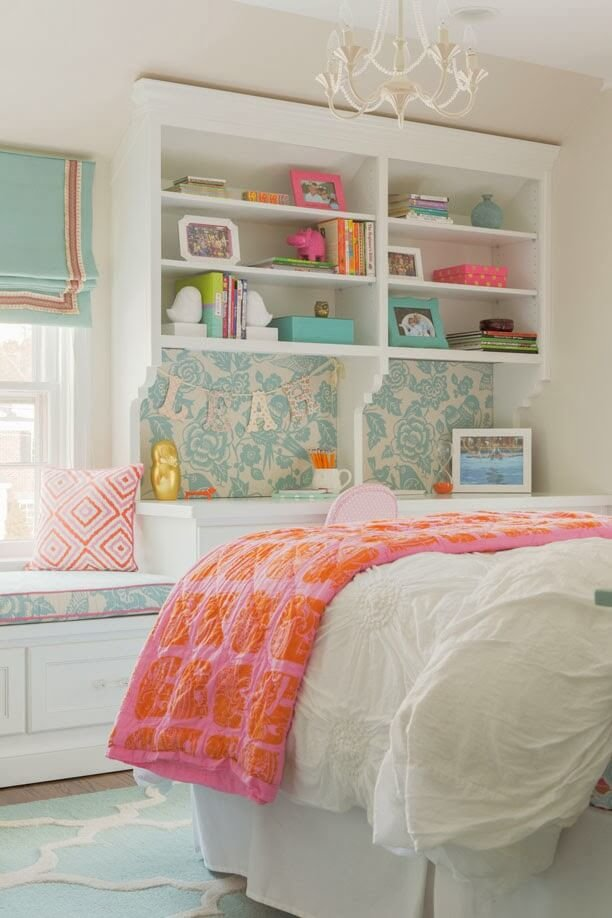 Feminine teenage bedroom furniture