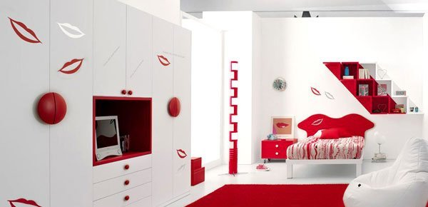 Creative teen room