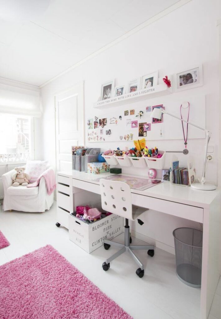 Stylish girls bedroom ideas for small rooms