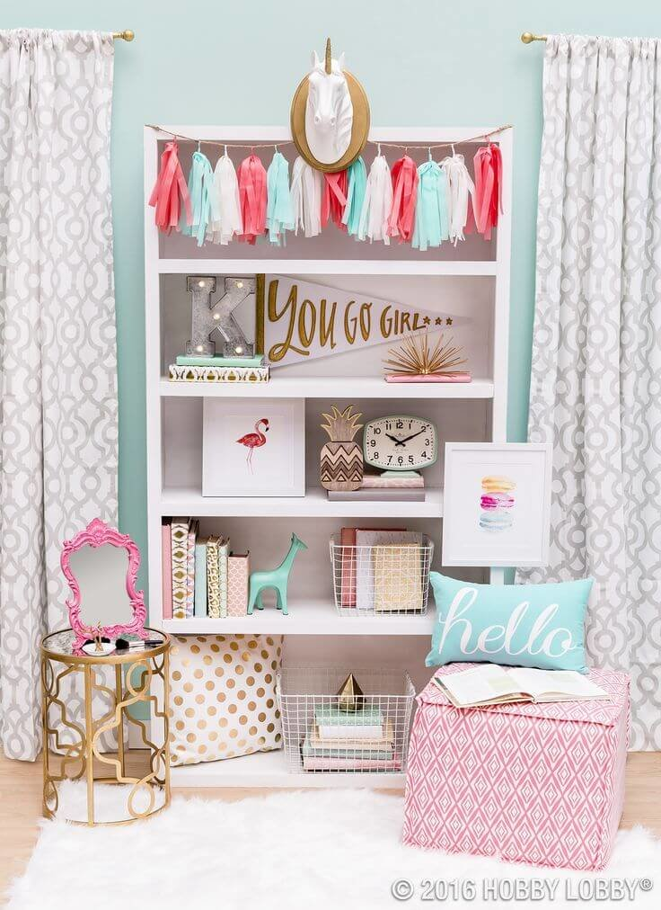 Unique teenage girl bedroom ideas for small rooms