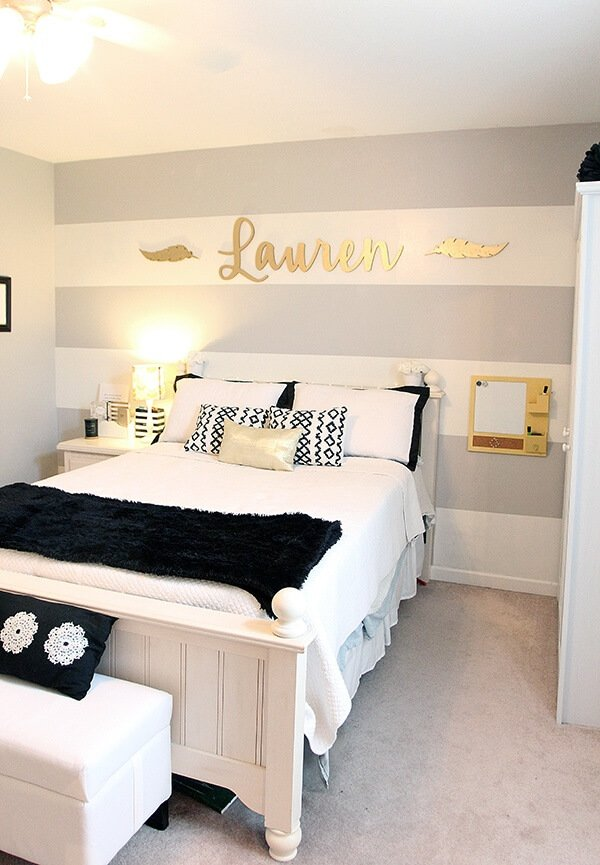 Stylish teen room ideas
