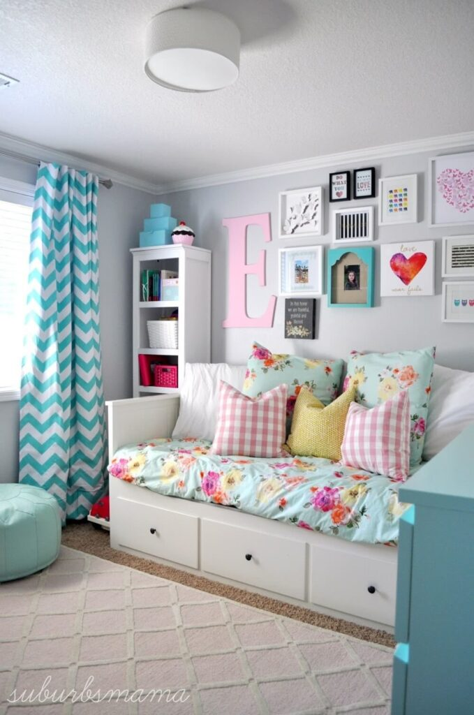 Fashionable bedroom decorating ideas