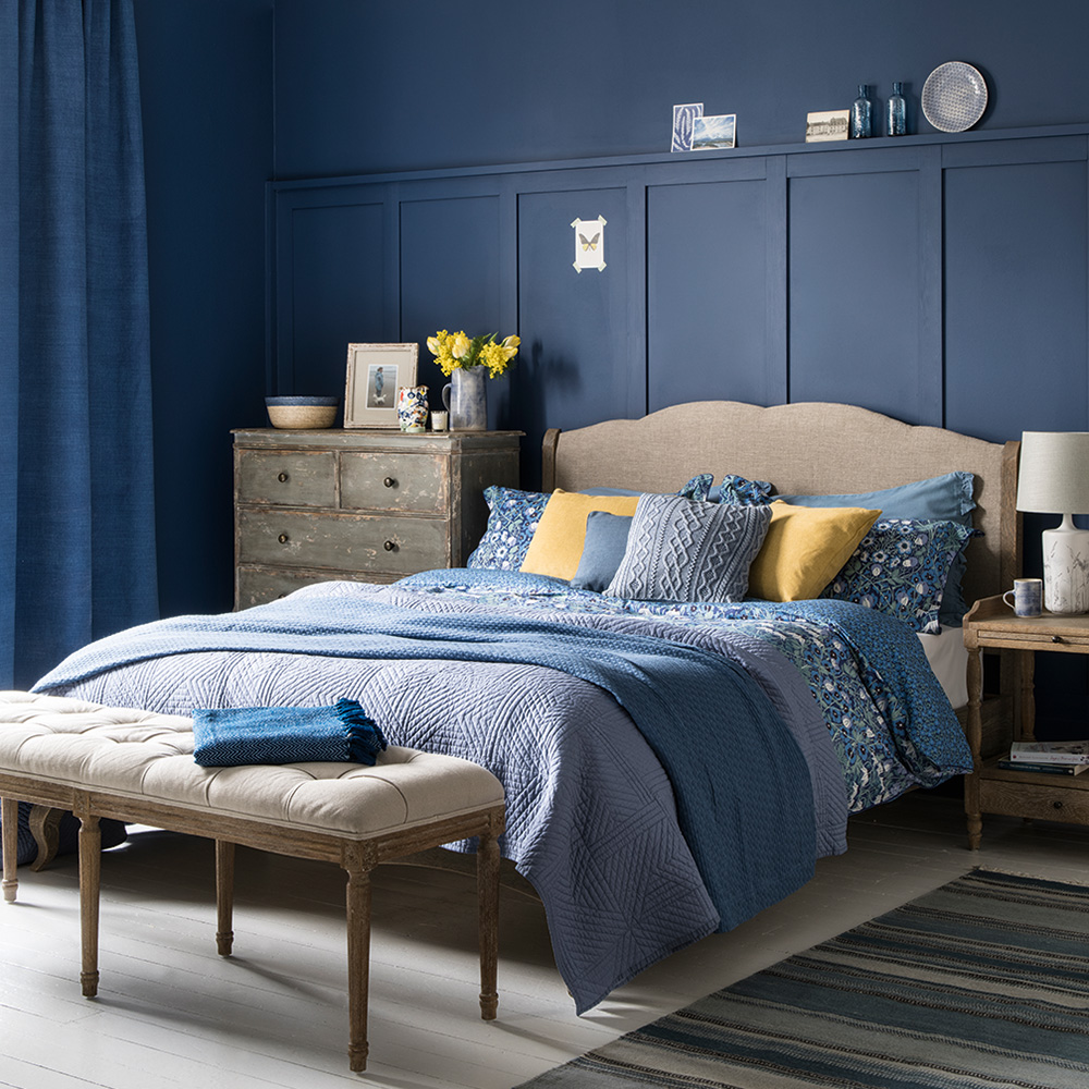 Boy's Bedroom With Painted Panelling