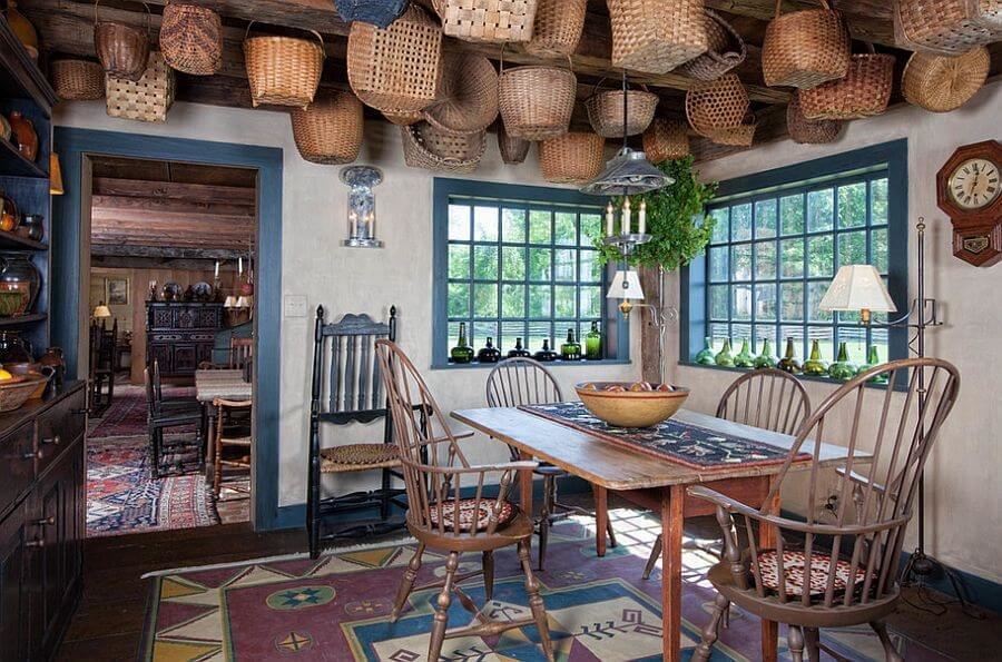 Incredible farmhouse style dining table