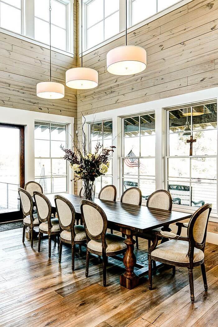 Best rustic dining room ideas