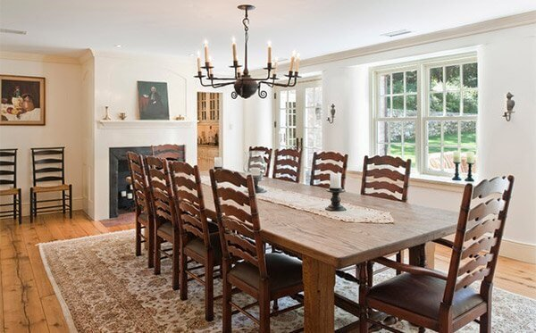 Awesome farm style dining table