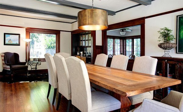 Adorable farmhouse dining room photos