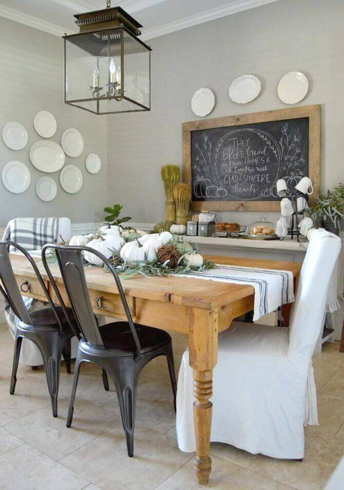 Best rustic dining room wall décor
