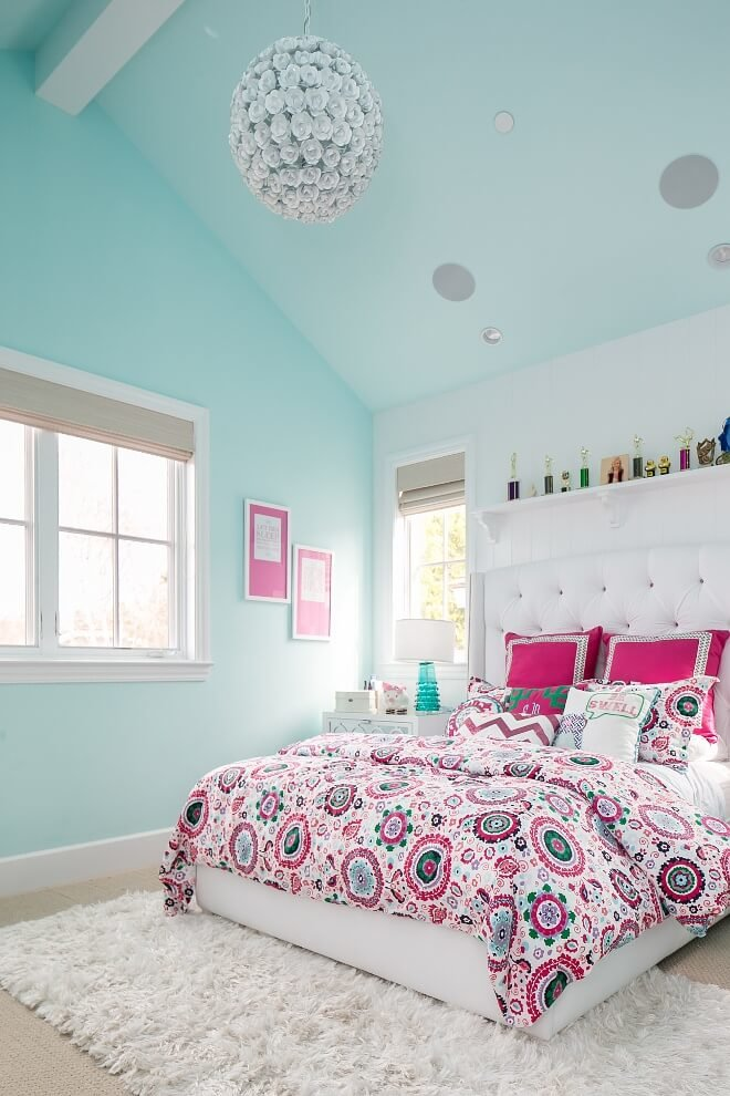 Feminine bedroom ideas for small rooms