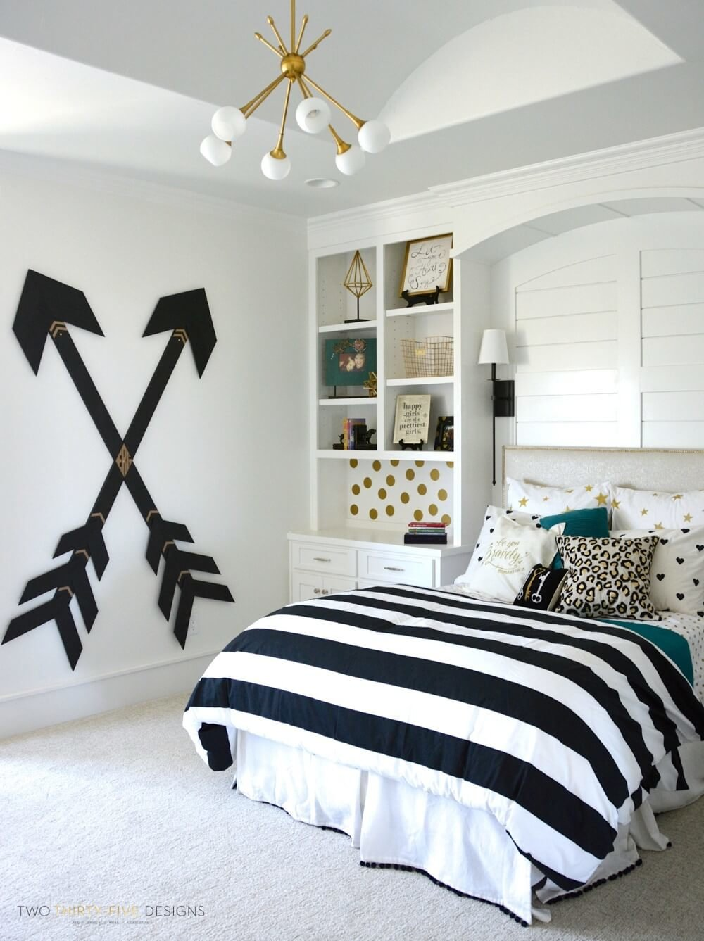 5+ Feminine and Fashionable Teenage Girl Bedroom Ideas That Will