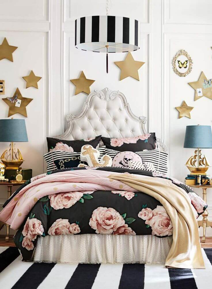 Feminine tween bedroom ideas