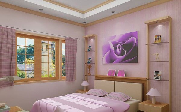 Splash Of Purple Little Girl Bedroom Ideas. Teenage Girl Bedroom