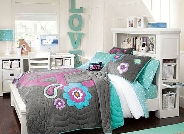 Cute teenage bedroom furniture