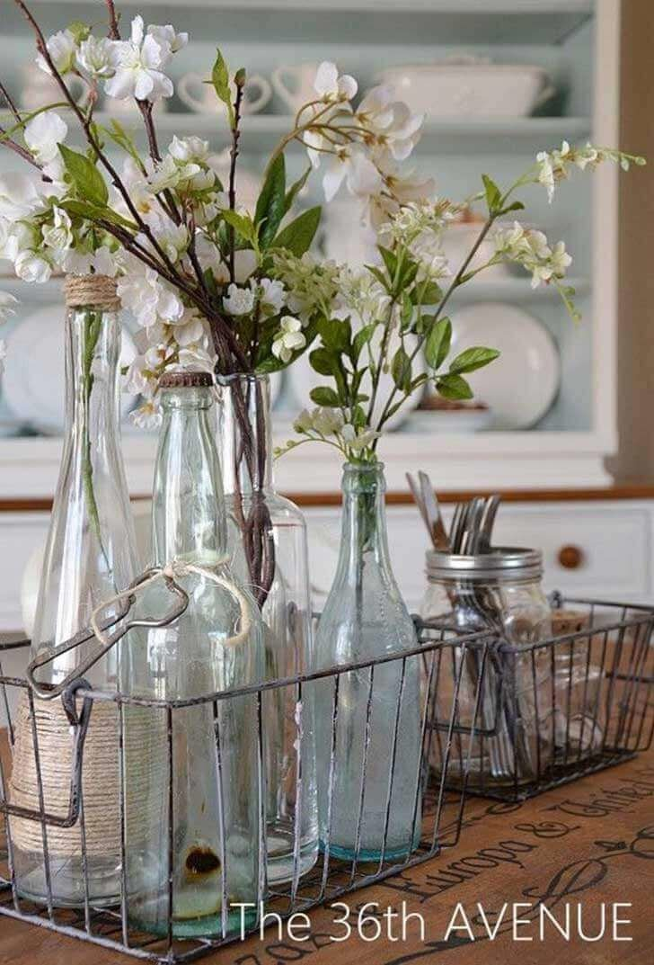 Adorable farmhouse style dining table