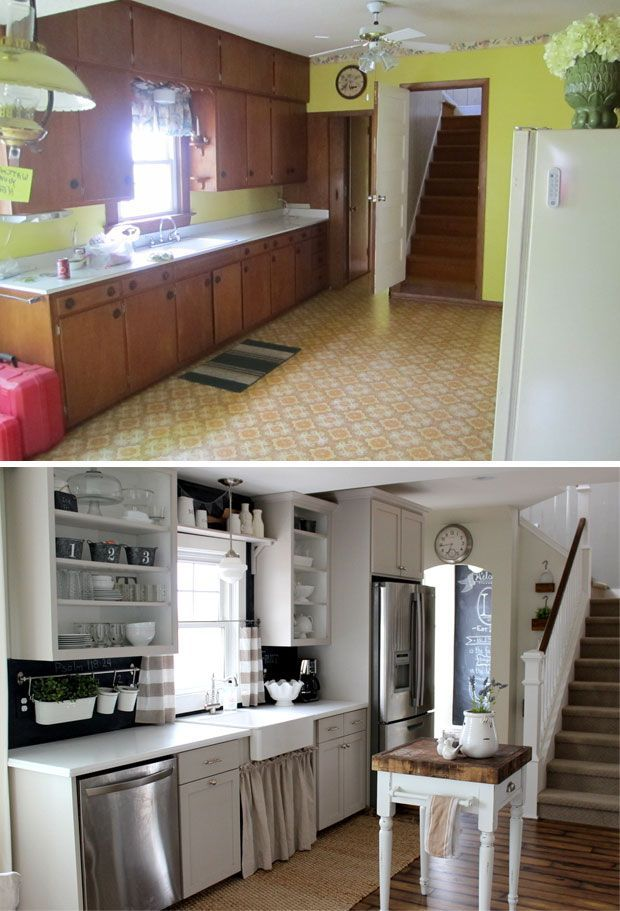 85 spectacular kitchen remodel ideas before and after for Kitchen remodel ideas before and after
