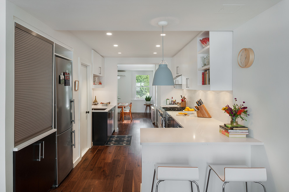 Efficient small kitchen remodel ideas