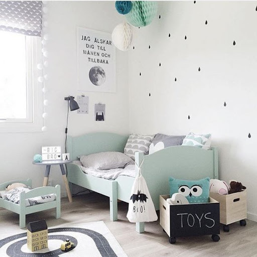 Brilliant children room design
